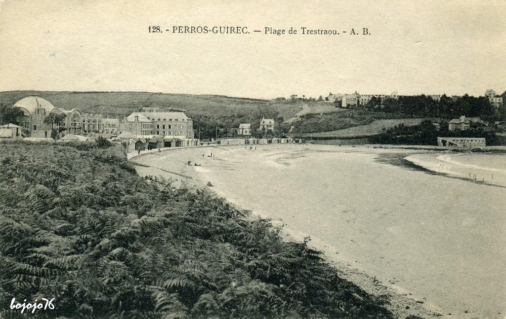 PERROS-GUIREC PLAGE DE TRESTRAOU