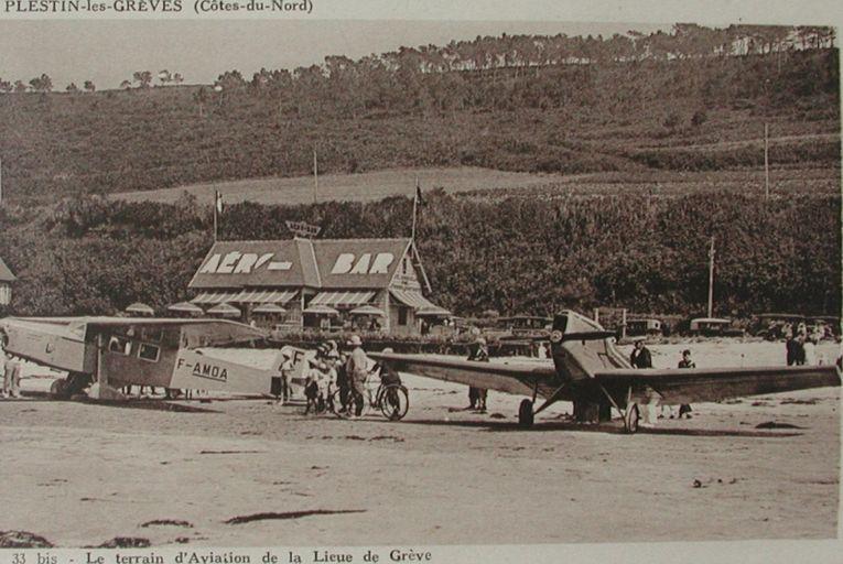 L'AERODROME DE ST MICHEL EN GREVE et Marcel COADOU en 1931