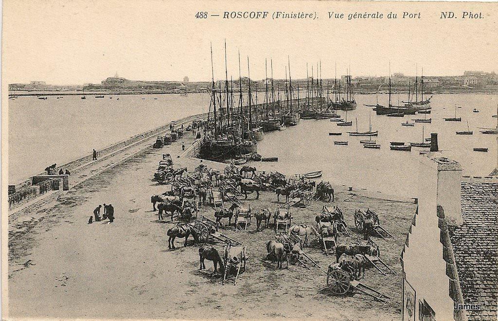 ROSCOFF - LE PORT 1900